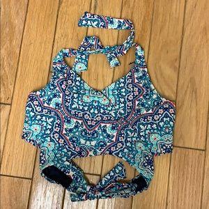 Athleta Wrap Bikini Too. Size 36D/DD